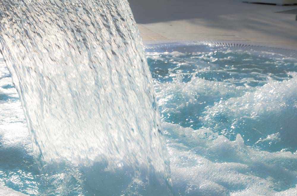 Dettaglio piscine Albergo per famiglie a Bellaria
