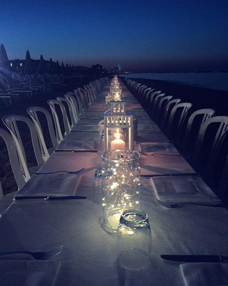 Cena a tema sulla Spiaggia di Bellaria
