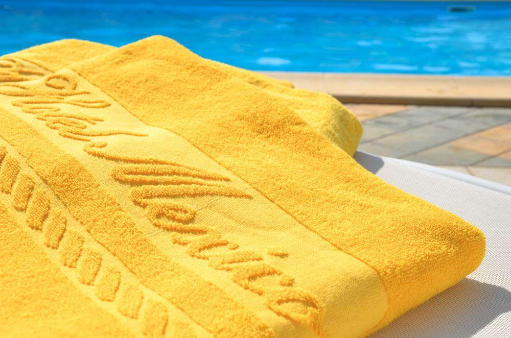 Dettaglio Asciugamano kit piscina Hotel Mexico