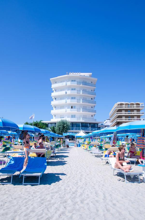 Hotel Mexico Sul mare con spiaggia privata