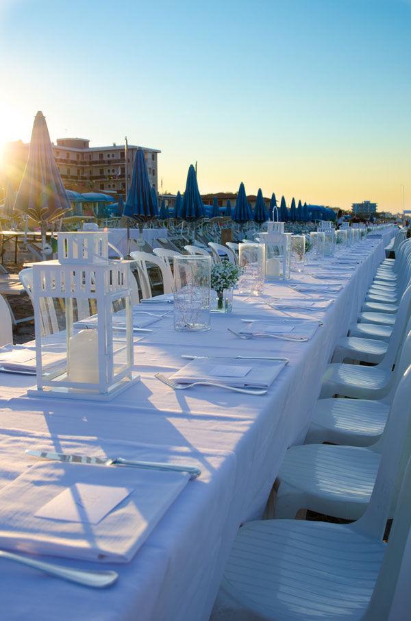Evento Candida Cena in bianco sotto le stelle
